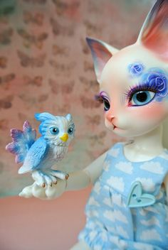 Feathered Friend with Pipos BJD
