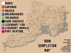Video game memes 346003183869000427 - Red Dead Redemption 2 Completion Map Source by Red Dead Redemption Game, John Marston, Read Dead, Rdr 2, Gaming Memes, Video Game Art, Skyrim, Geek Stuff, Fan Art