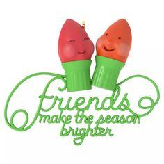 Friends Make the Season Brighter Friendship Ornament