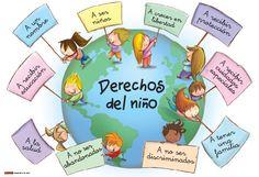 20 de Noviembre: Día Mundial de la Declaración Universal de los Derechos del Niño  Según el Calendario Cívico Escolar... How To Teach Kids, Teacher Tools, Polymer Clay Crafts, Anime Love, Human Rights, Teaching Kids, Preschool, Barn, Activities