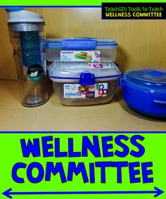WELLNESS COMMITTEE and Sunshine Committee - Ideas to use with your school's committees.