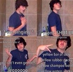 Aaron Carpenter ahhhh best thing ever haha im dying