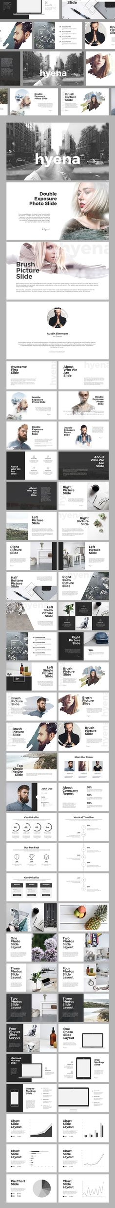 HYENA - PowerPoint Template - PowerPoint Templates Presentation Templates