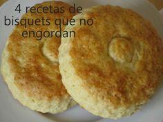 4 recetas de bisquets que no engordan