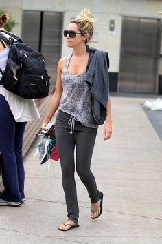 Ashley Tisdale - Looking good for the gym still!