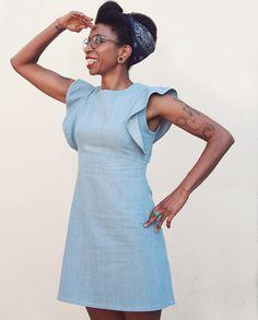 Sienna Shift Dress - sewthispattern by nine stitches