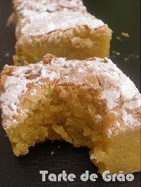 Portuguese Desserts, Portuguese Recipes, Portuguese Food, Baking Recipes, Cake Recipes, Dessert Recipes, Sweet Pie, How Sweet Eats, Dessert Bars