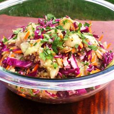 Glowing Cucumber Cabbage Salad