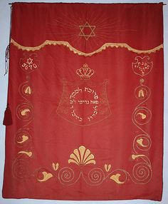 The Parochet from the shul in Trondheim