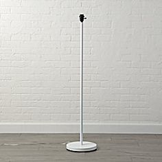 Mix and Match White Floor Lamp Base | The Land of Nod | Nursery ...