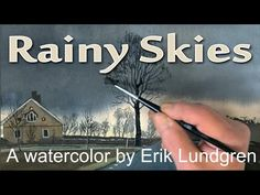 The Crow. A watercolor painting by Erik Lundgren - YouTube