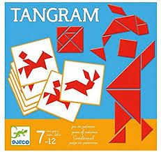 Djeco Tangram is a game of patience and strategic thinking of one person at a time. Use the shapes to form the images on the cards. For children aged Toys For Girls, Kids Toys, Patience, Rubik's Cube, 9 Year Olds, 20 Min, Jenga, Fun Games, Gifts