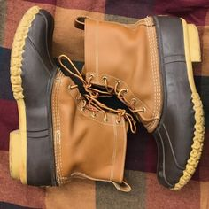 These LL Bean boots are a steal! {Mens size 12...