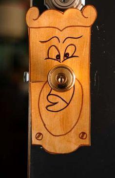 Alice in Wonderland mad hatter theme idea. Decorate door knob....