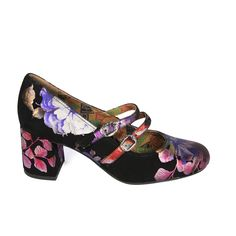 Preorder Now Tess in Flower Suede | Womens Shoes | Miss L Fire