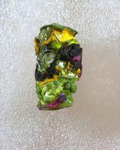 TYVEK beads  Wire Jewelry Craft Supplies Paper by BeadsBySvetla