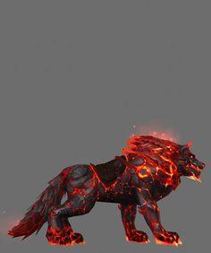 Огневолк - вид сбоку