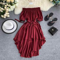 Cute Casual Outfits, Pretty Outfits, Pretty Dresses, Stylish Outfits, Beautiful Dresses, Cute Dress Outfits, Girls Fashion Clothes, Teen Fashion Outfits, Girl Outfits
