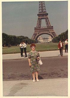 aunt Zelda in Paris