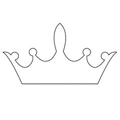 princess crowns template Princess crown DIY | template | Pinterest | Crown template, Crown ...