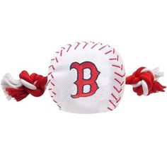 Boston Red Sox Nylon Baseball Rope Pet Toy