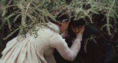 Ben Whishaw (John Keats) & Abbie Cornish (Fanny Brawne) - Bright Star (2009) directed by Jane Campion
