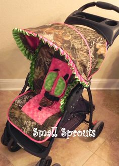 Small Sprouts: Liberty Mossy Oak Breakup Camo Baby but without the neon green