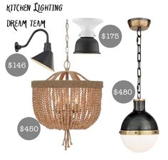 Kitchen Lighting Ideas for a Modern, Rustic Farmhouse