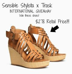 Trask Giveaway - Win $258 Sandals! @sensiblestylist and @hstrask