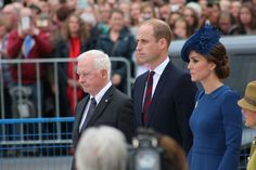 The Duke and Duchess in Victoria BC Canada today!