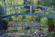 Puente En Giverny, Claude Monet - http://redarte.com.ar/2013/08/puente-en-giverny-claude-monet/ #RedArte #Art #Arte #Revista