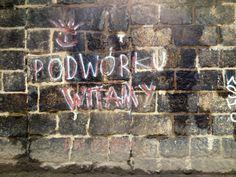 Podwórku witamy - graffiti Wrocław #podwórko #graffiti #Wrocław