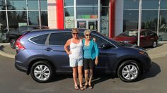 Congratulations Paris, on the purchase of your new CRV. You look like you're having a great summer...hope this makes it even better!