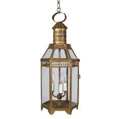 19th Century Continental Hanging Lantern