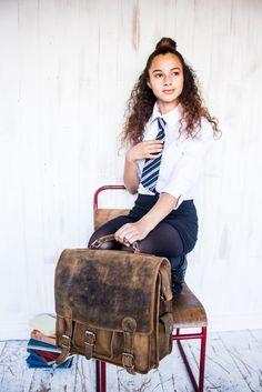 Head back to school this year with stylish leather bags by Scaramanga. Back To School, Leather Bag, Stylish, Bags, Fashion, Handbags, Moda, Fashion Styles, Entering School