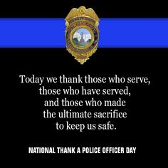 Take a Moment and Thank a Police Officer Today - http://www.michaelmcauliffe.org/2015/09/take-moment-and-thank-police-officer.html