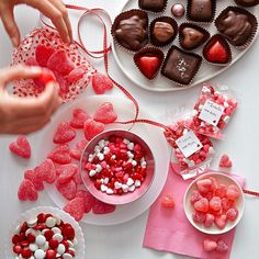 Valentine's Day Party Menu for Kids