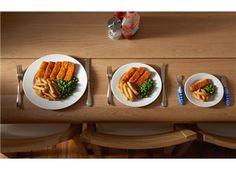 Sırf gözünüzü doyurmak için tepelediğiniz #tabaklarla vedalaşın! Daha az ve daha #küçük #porsiyonlar tercih edin.