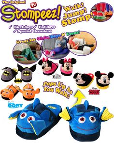 Mimi Loves All 8: Stompeez Slippers for Children   Review/Giveaway