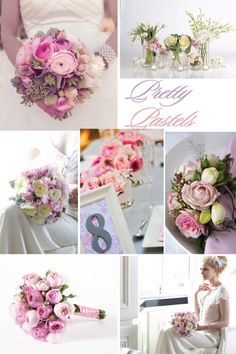 Pastel wedding Flowers Bouquet