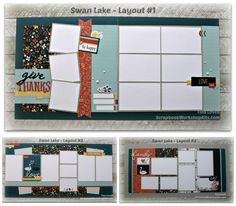 Hi Everyone, Again, to help you get a jump start on some of your fall scrapbook layouts, I am sharing a brand new paper pack from Close to M...