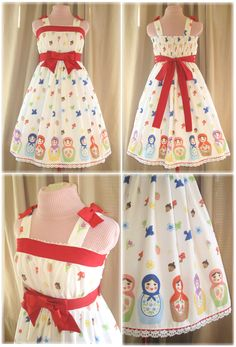 Sweet Matryoshka Jumper Skirt by sakurafairy.deviantart.com on @deviantART
