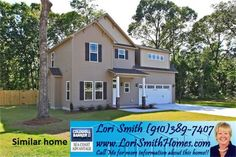 103 Old Dock Landing Road lot #7, Sneads Ferry, NC 28460 US Jacksonville Home for Sale - Lori Smith New Homes