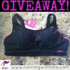 RUNNING WITH OLLIE: JoeyBra Sport Review and Giveaway: Stuff Your Bra the Right Way