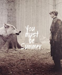 Summer and Jojen Reed