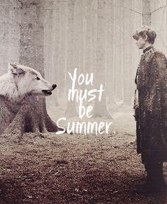 Summer and Jojen Reed