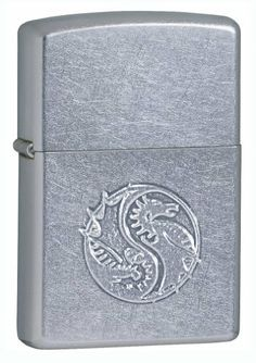 Raised Dragon Stamped by Zippo.