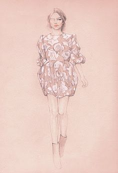 NY-based artist Connie Hy Kim makes lovely fragile pencil drawings with pastel color tones. www.conniehykim.com