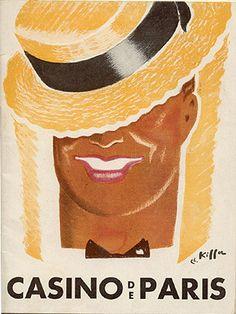 """Casino de Paris,"" 1937.Program. Signed ""Kipper."" Collection of David Levine."