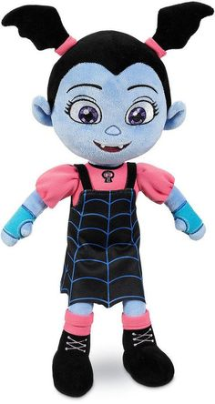 Vampire Plush Doll Vampirina Toy Girls Batwing Ponytails Disney Junior Girl Gift for sale online Little Girl Toys, Toys For Girls, My Little Pony, Kids Toys, Disney Plush, Disney Toys, Minnie Bow, Minnie Mouse, Dog Pajamas